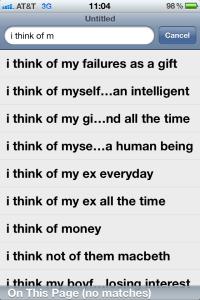 I Think of Me Too
